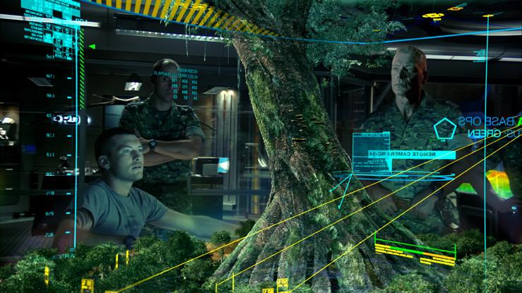 Avatar-der Baum-mittel